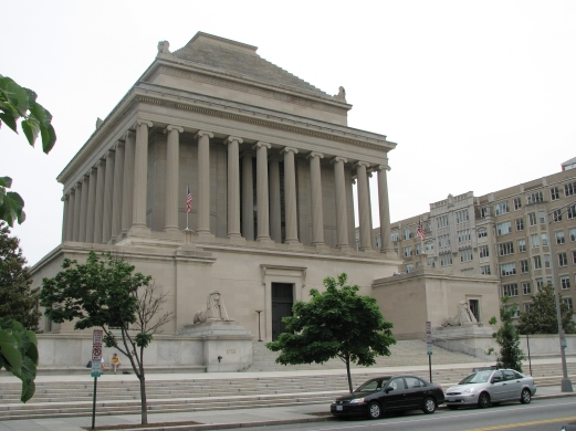 The Masonic House of the Temple of the Scottish Rite, Washington, DC, John Russell Pope, architect, 1911–15, another scholarly version.